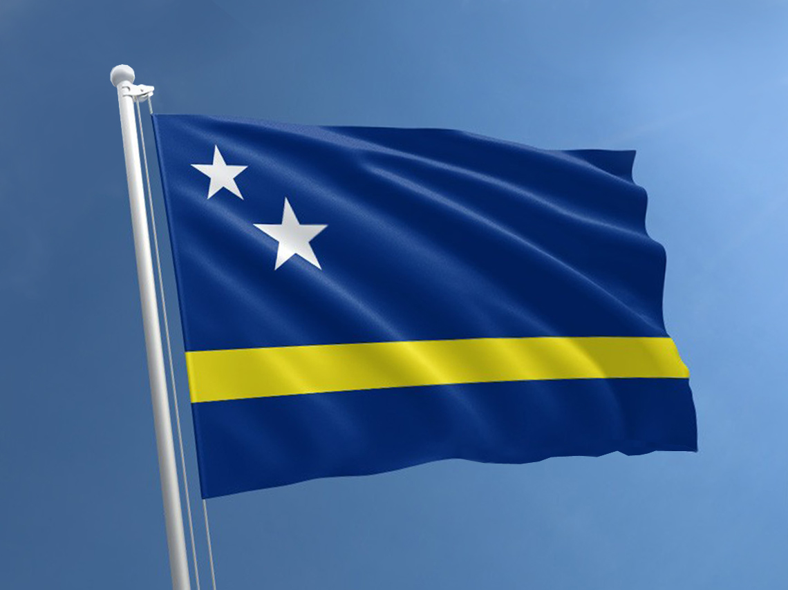 Curacao Country Flag