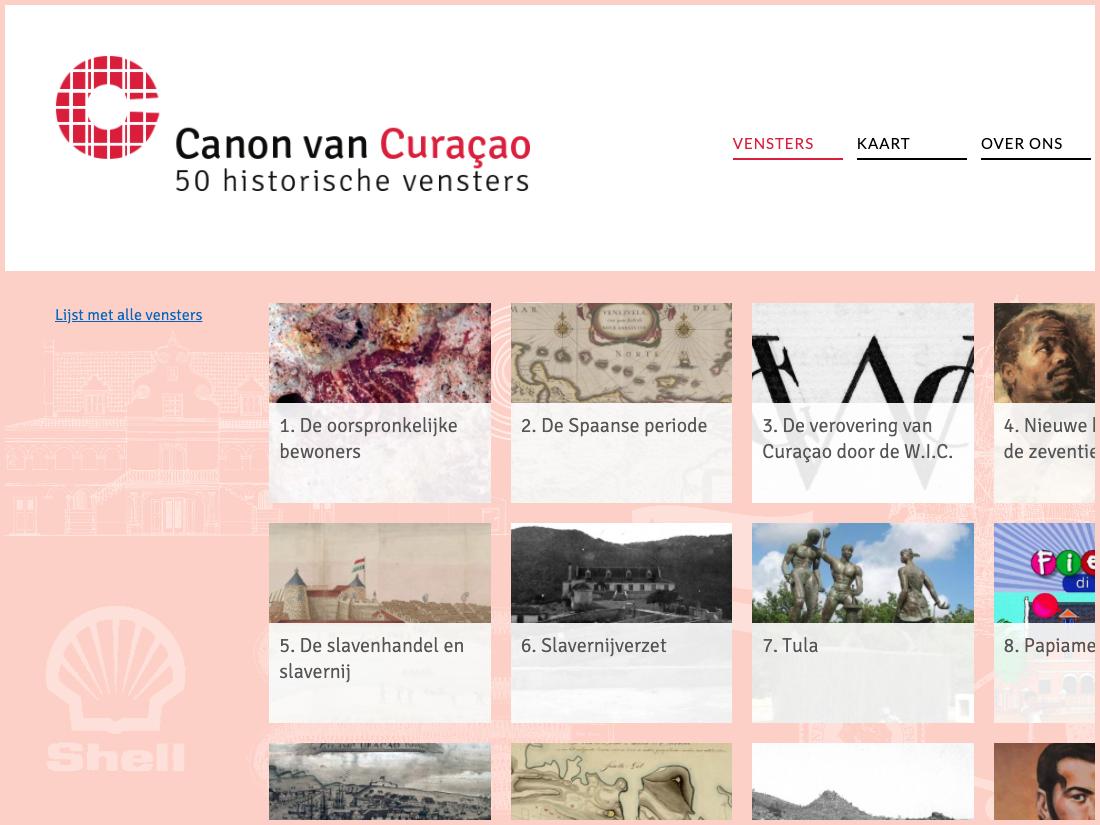 Website Canon Curacao